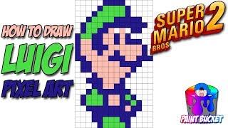 ᐅ Descargar MP3 de How To Draw Luigi From Super Mario Bros 2 8 Bit