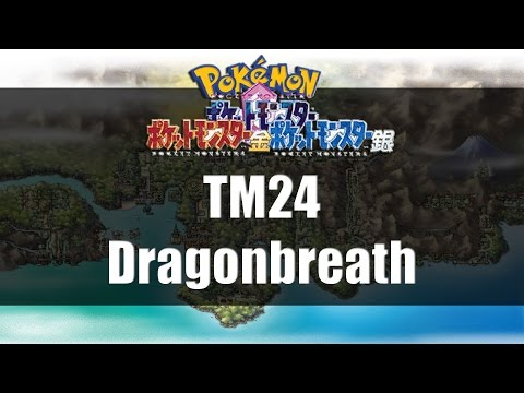 Pokemon Gold Silver & Crystal | Where to get TM24 Dragonbreath