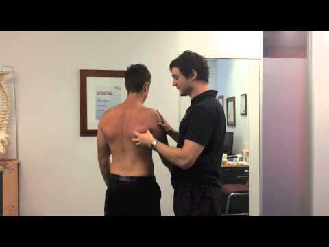 Shoulder Extension Theraband Exercise