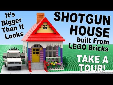 Custom Build - Lego Shotgun House