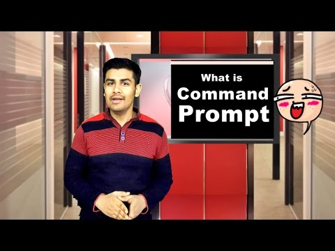 What is Command Prompt ? How to use it easily (In Hindi)