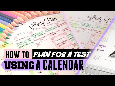 How to Plan for Multiple Exams Using a Calendar or Study Guide