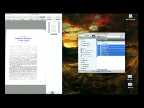 How To Create a Multi Page PDF in Mac OS X