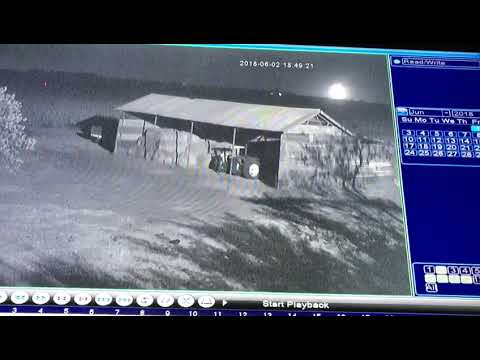 Meteor 2018 LA (ZLAF9B2)seen from farm between Ottosdal and Hartebeesfontein North West South Africa