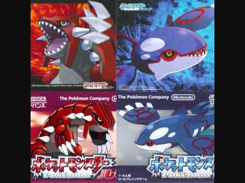 Groudon & Kyogre & Rayquaza Battle - Pokémon Ruby/Sapphire/Emerald