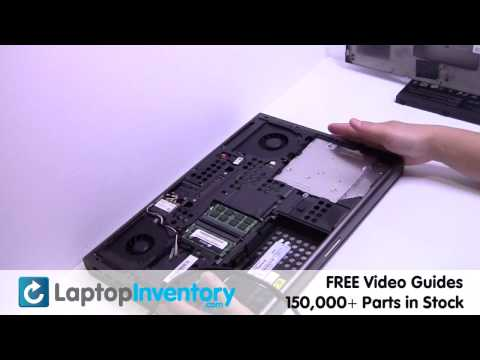 Dell Precision M6400 DVD Replacement - Latitude | CD Optical Drive Laptop Install Replace