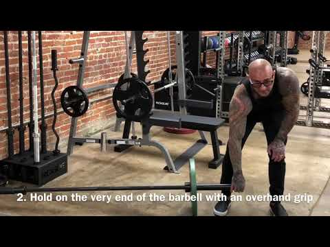 Landmine Row Tip for Bigger Lats