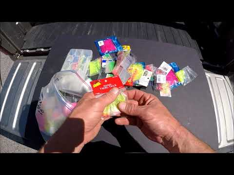 Tackle Tailgate #6       My  Shad Lures