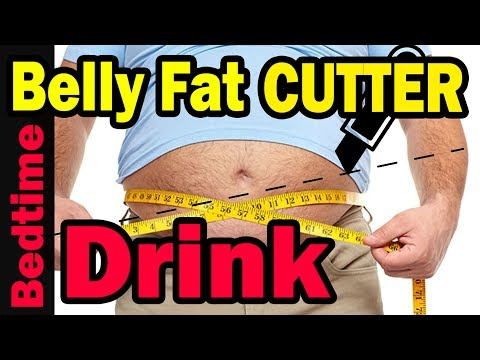 FAT CUTTER BedTime Drink to Lose Belly Fat Overnight 🌙 Lose Weight FAST Weight Loss Drink DIY Detox