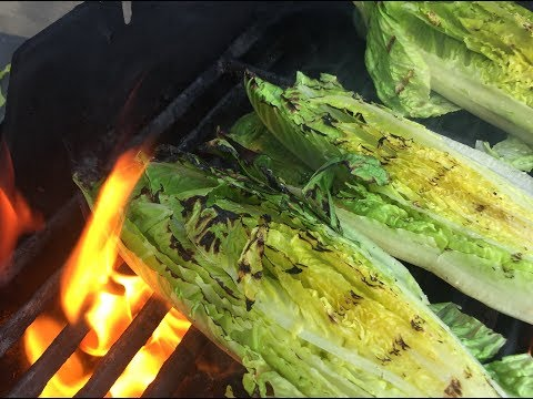How to Grill Lettuce