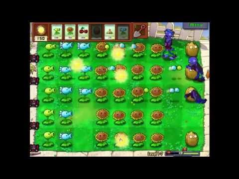 Plants Vs Zombies Lv 1-7
