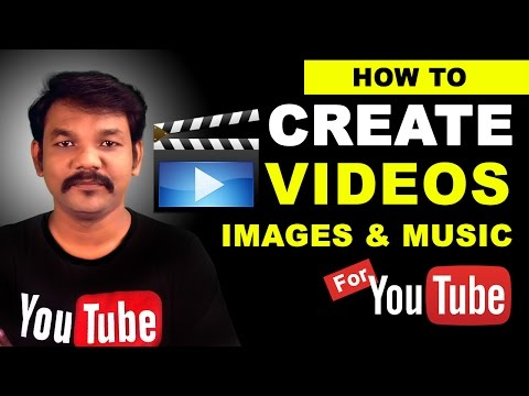 How to Make a Video Pictures and Music on Youtube With The YouTube Video Editor