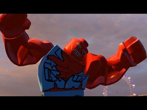 LEGO Marvel's Avengers - General Thunderbolt Ross Transformation Into Red Hulk | Free Roam (PC HD)
