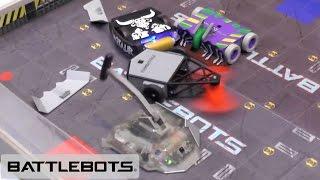 Hexbugs Battlebots 2017 - Every Robot Battle + BRONCO