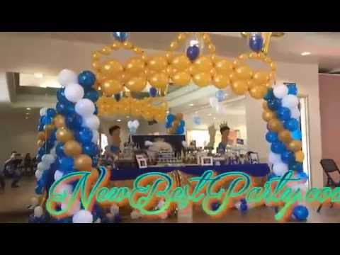 Crown balloons decoration