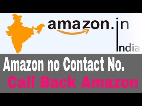 How to Contact Amazon Customer Service in India.