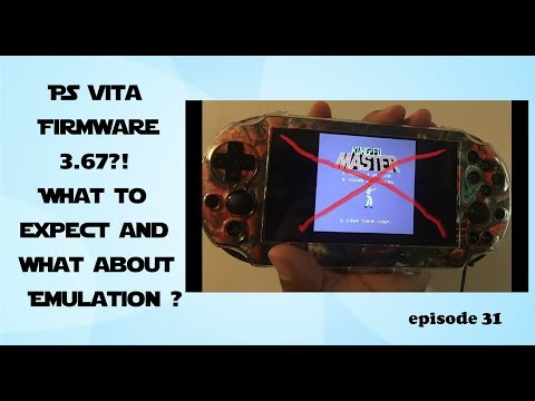 Vita Hack 3.68, 3.67, and 3.65 update EASY Install emulation and tutorial