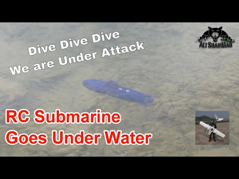 RC Submarine dives Under Water - Did it come out?