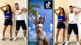 WE RE-CREATED VIRAL TIK TOK DANCES! *GONE WRONG*