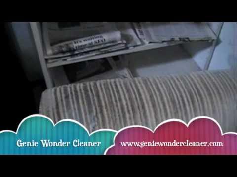 Genie Wonder Cleaner Cleans Upholstery