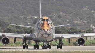 Tiger Boeing take-off