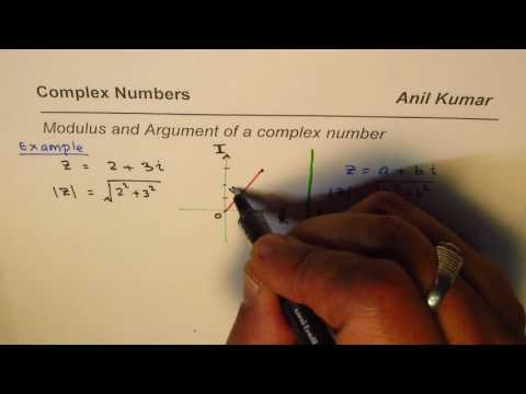 How to Calculate Modulus and Argument of Complex Numbers