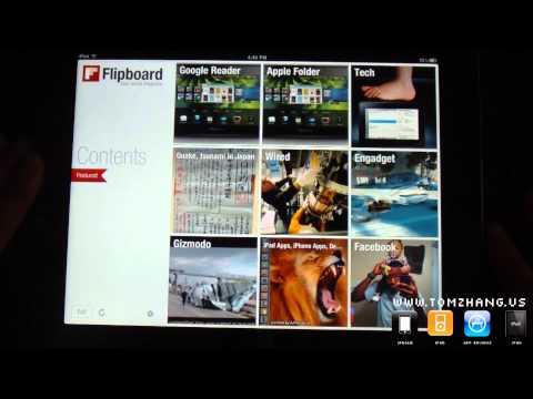 Flipboard 1.2.1 Official App Update for iPad / iPad 2 HD