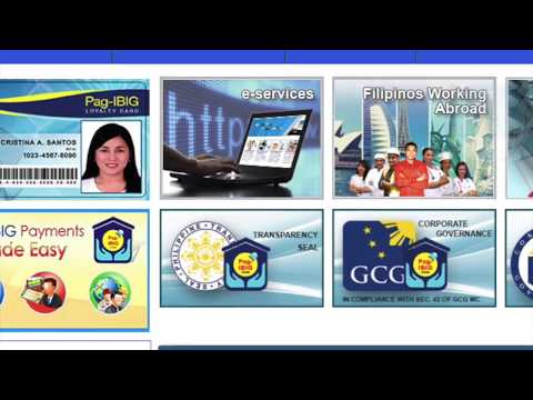 How to register at PAG-IBIG FUND website