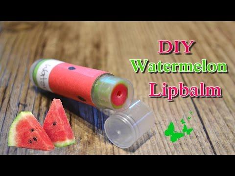 DIY Watermelon Lipbalm | P.G.P Crafts