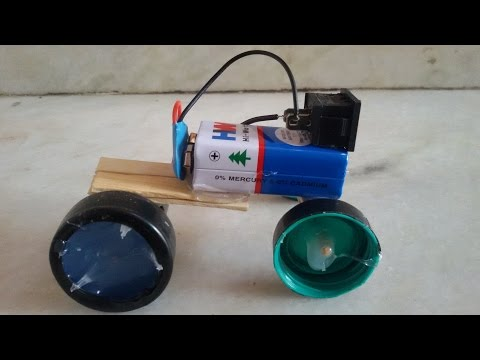 how to make a very simple car - motor car