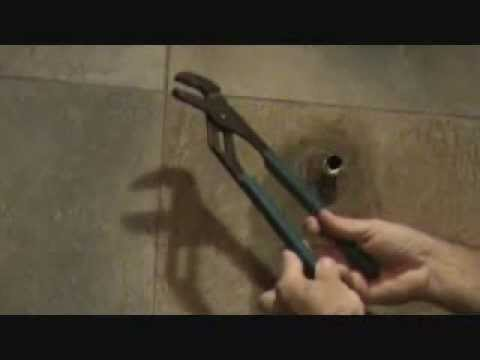 How to repair a leaking shower head arm...Part 1