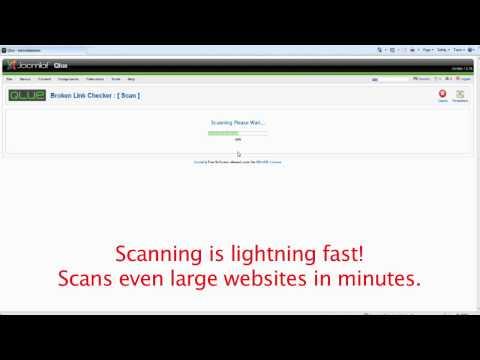 Joomla Broken Link Checker/Scanner