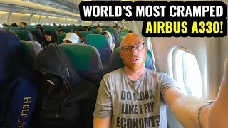 WORLD'S MOST CRAMPED A330! 10 Hours on Cebu Pacific!