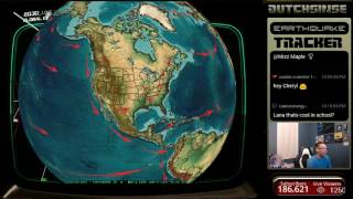 1/16/2017 -- Nightly Earthquake Update + Forecast -- 1 day left in large EQ watch period