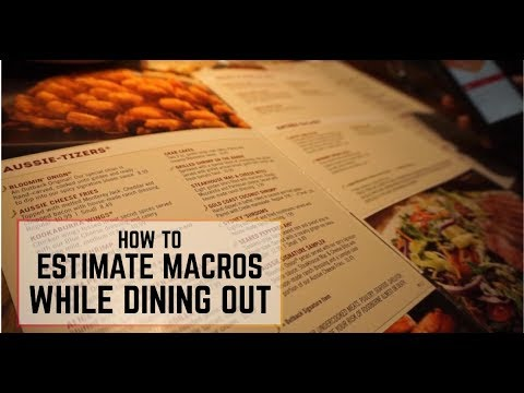 How to Estimate Macros While Dining Out