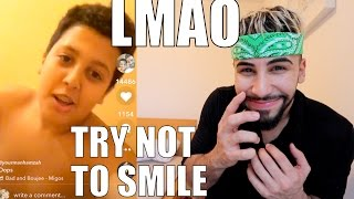 TRY NOT TO SMILE CHALLENGE!! (MUSICAL.LY EDITION)