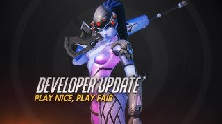 Developer Update | Play Nice, Play Fair | Overwatch