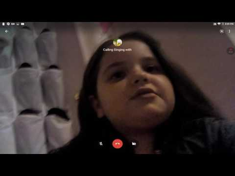 Video calling my friends