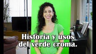 Historia y usos del verde croma