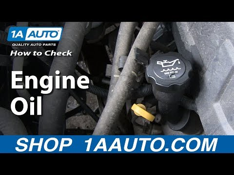 Beginner Car Care: Checking Your Car or Trucks Engine Oil