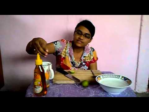 Honey lemon juice.mp4
