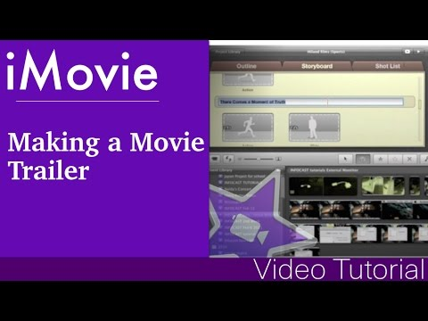 How to make a Movie Trailer in iMovie '11