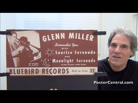 "Glenn Miller 1939 ""Moonlight Serenade"" Promo Poster"