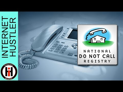 National Do Not Call Registry How To Stop Telemarketers - Spencer Coffman