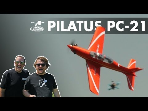 Alex's Longest Knife Edge! FMS Pilatus PC-21