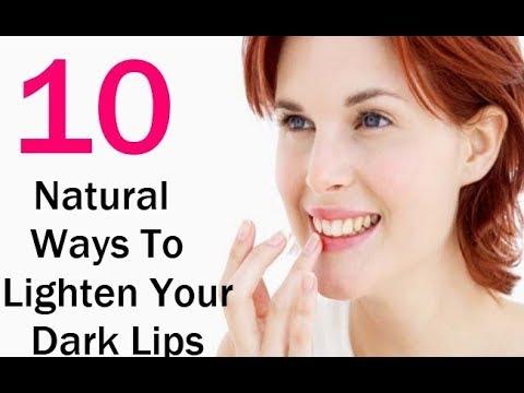 Top 10 Home Remedies For Dark Lips / How to GET PINK LIPS & LIGHTEN DARK LIPS