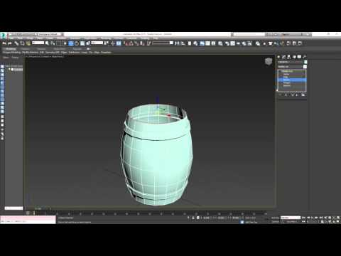 Straight to the Point (SttP) - 3DS Max: Barrel