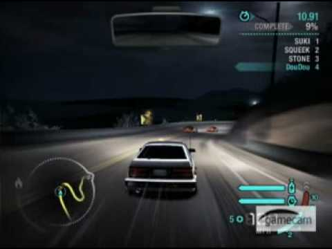 Need For Speed: Carbon Unlocked cars