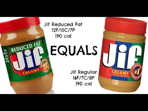 equals & alternatives Episode 38: Jif Peanut Butter & 'Reduced Fat' Jif Peanut Butter