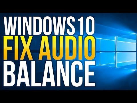 How to Fix Audio Balance in Windows 10